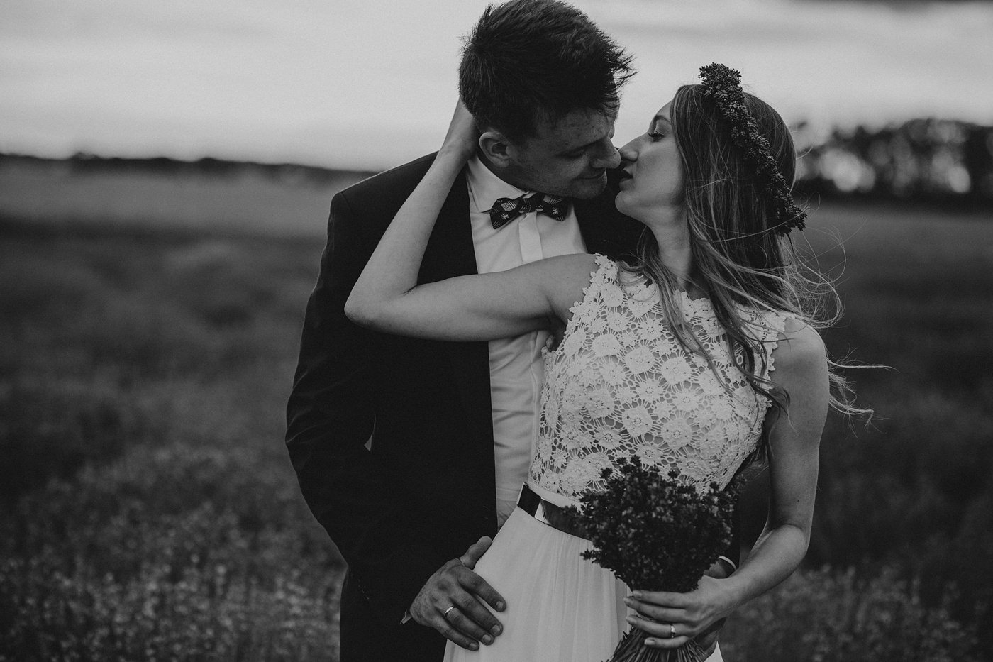 Anna i Marcin - Sesja Ślubna na Polu Lawendy 18