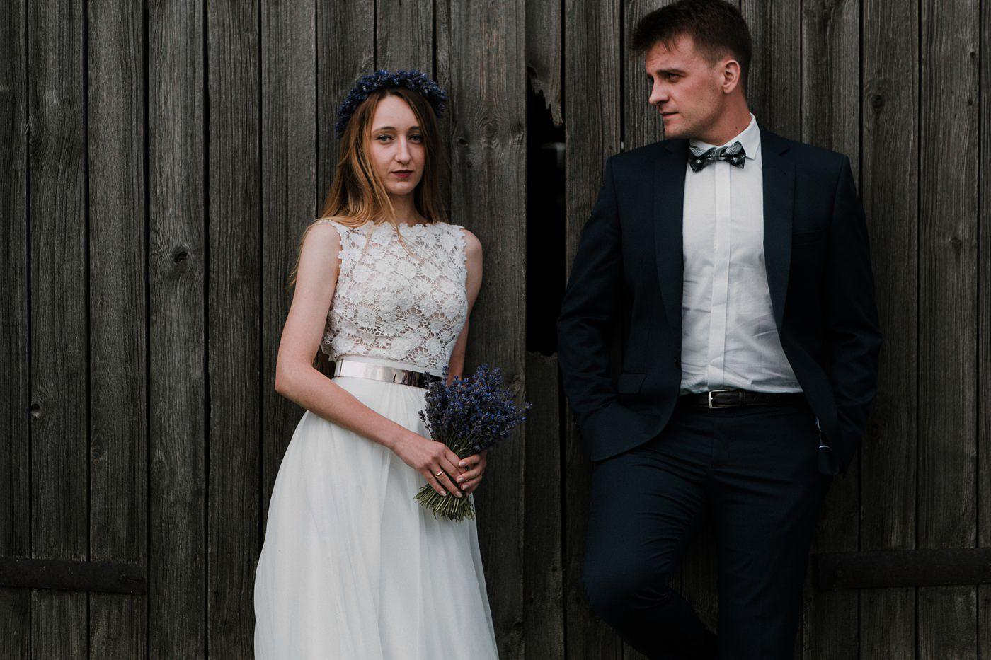 Anna i Marcin - Sesja Ślubna na Polu Lawendy 28