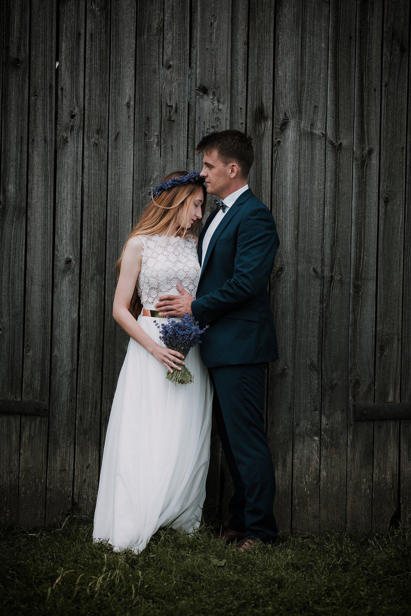Anna i Marcin - Sesja Ślubna na Polu Lawendy 31