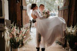 Dominika & Aleksander - Rustykalne wesele w stodole - Baborówko 1
