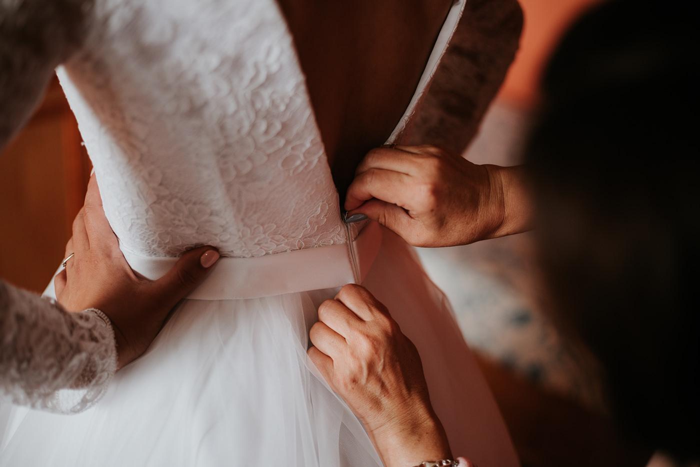 Dominika & Aleksander - Rustykalne wesele w stodole - Baborówko 6