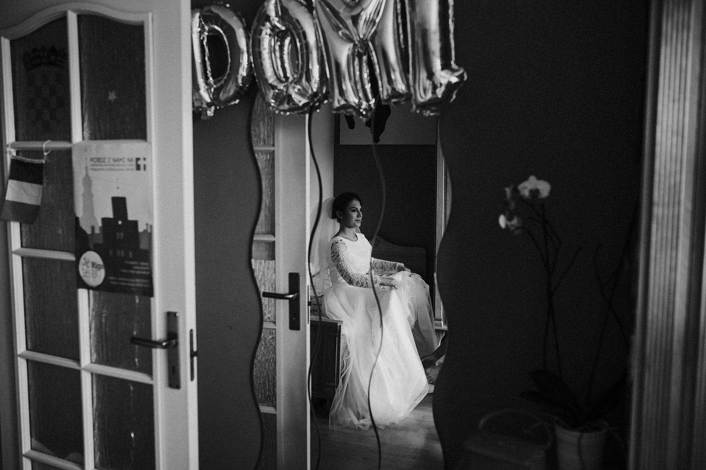 Dominika & Aleksander - Rustykalne wesele w stodole - Baborówko 9