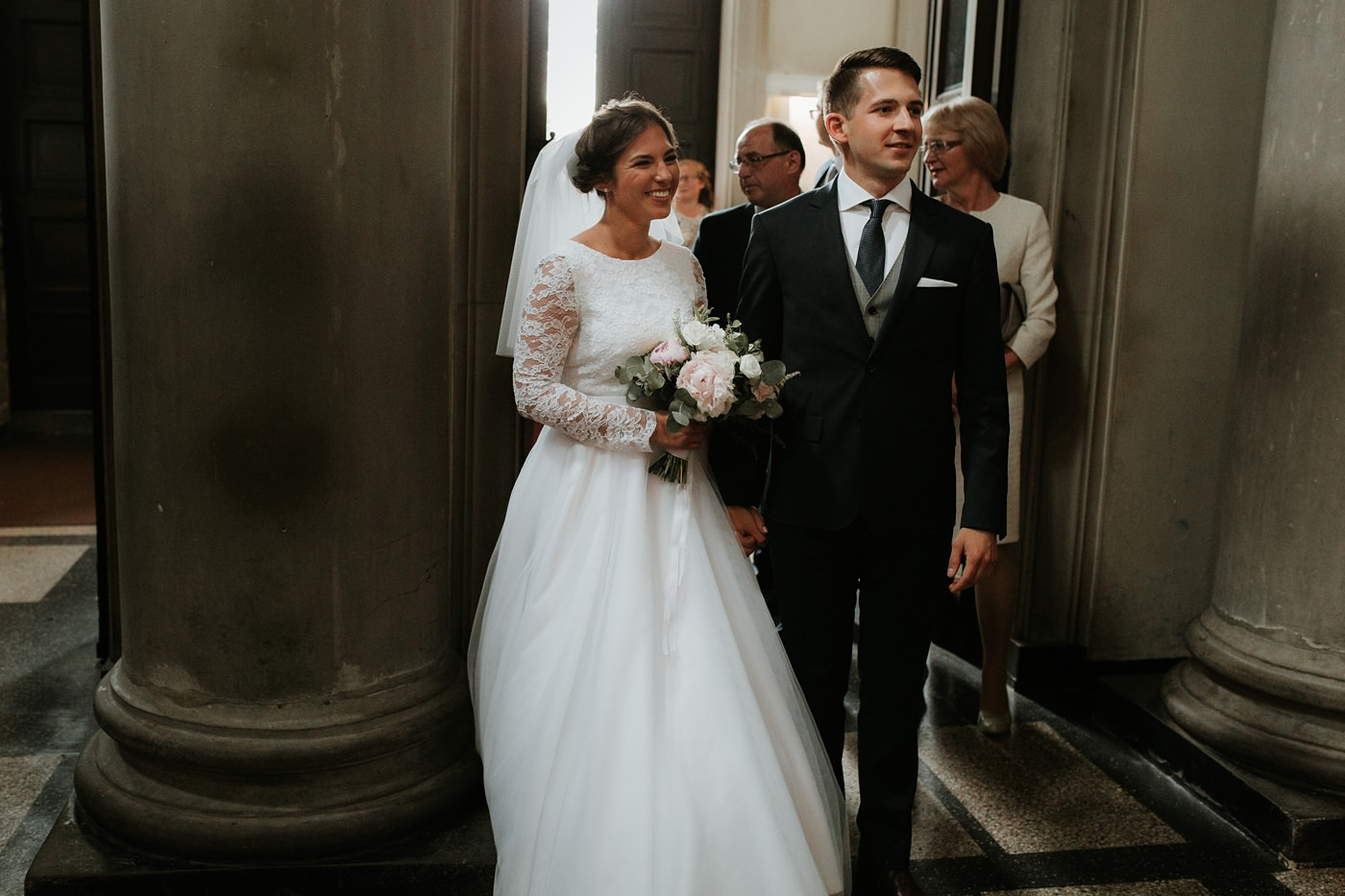 Dominika & Aleksander - Rustykalne wesele w stodole - Baborówko 45