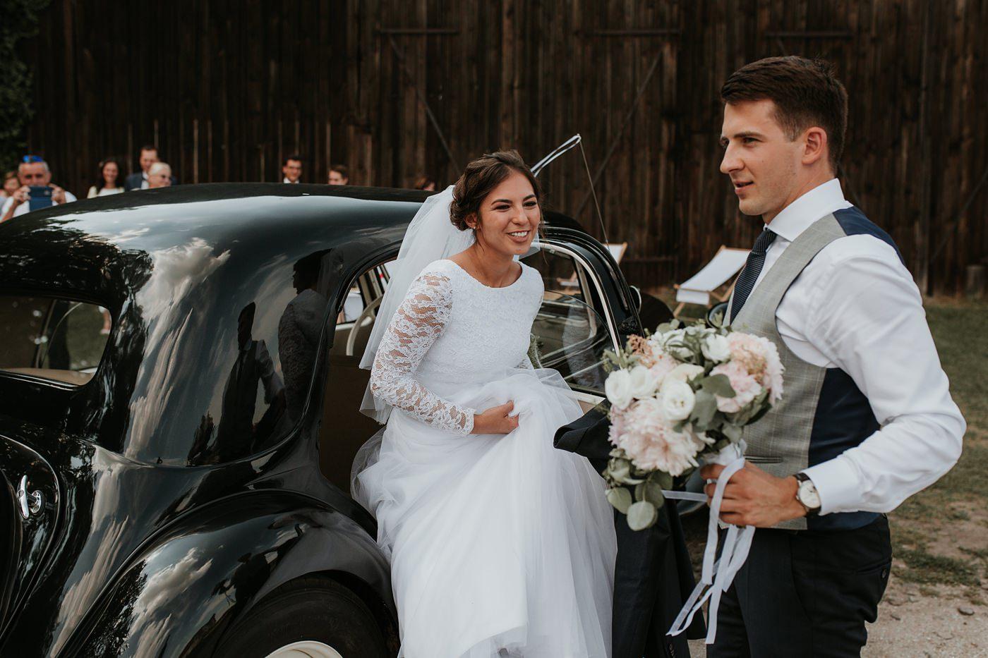 Dominika & Aleksander - Rustykalne wesele w stodole - Baborówko 76