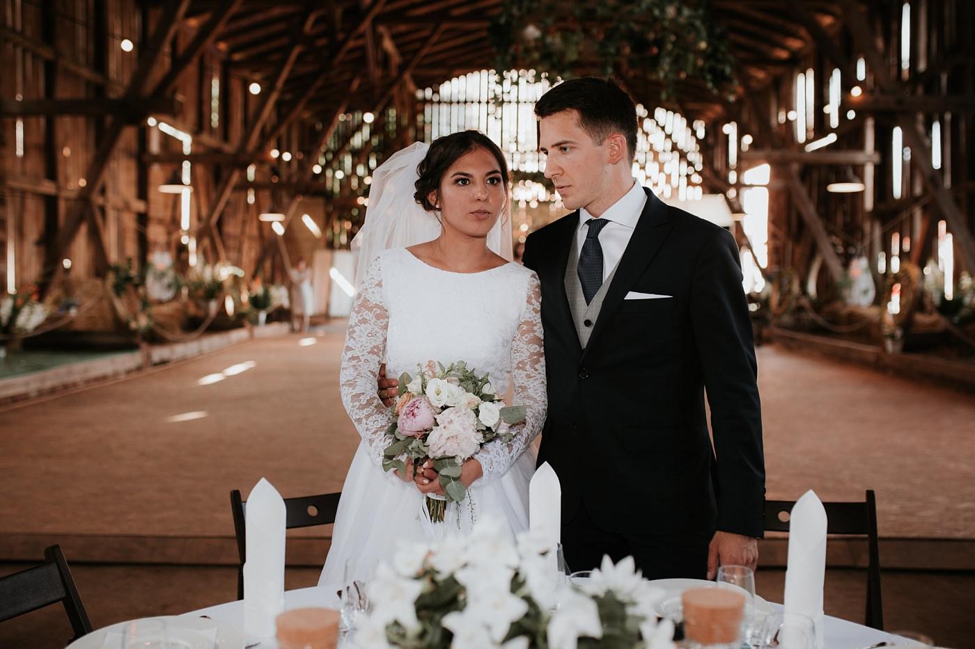 Dominika & Aleksander - Rustykalne wesele w stodole - Baborówko 99