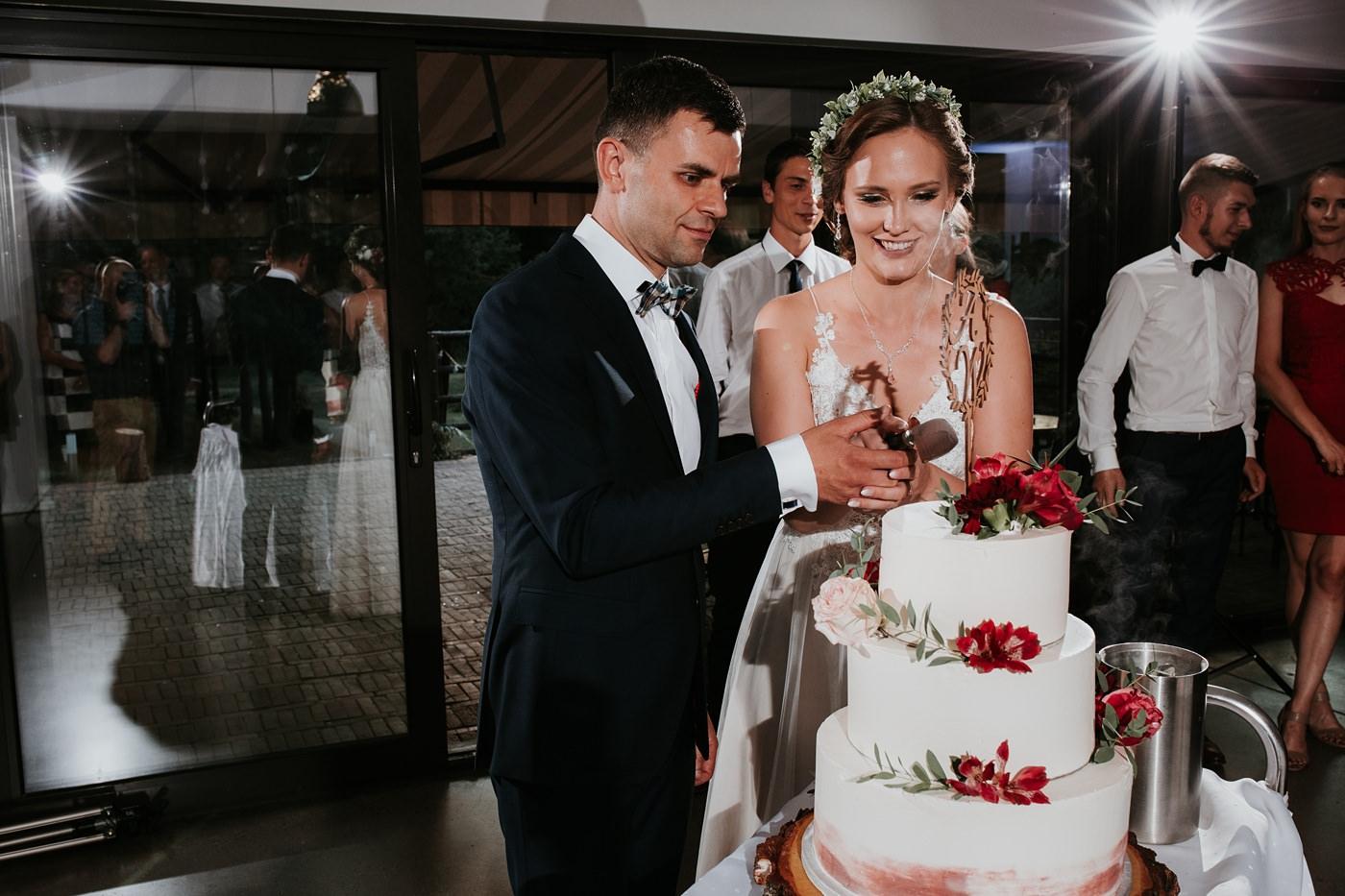 Anna & Wojtek - Ślub cywilny w plenerze - Barnówko w Sam Las 96